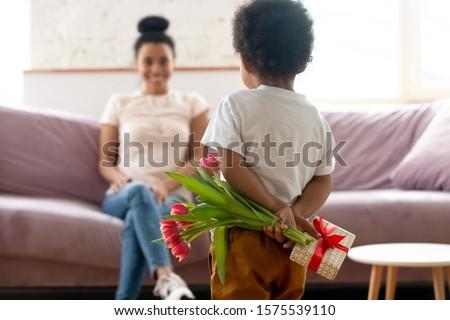 Fiatal anya gyermek gyengédség baba jókedv Stock fotó © ElenaBatkova