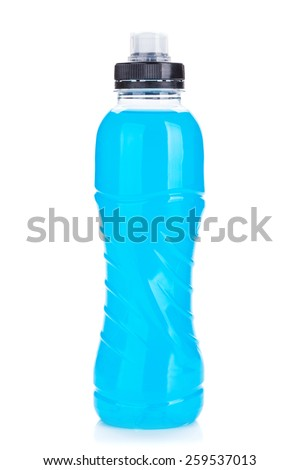 Plastica bottiglia blu bianco perfetto Foto d'archivio © DenisMArt
