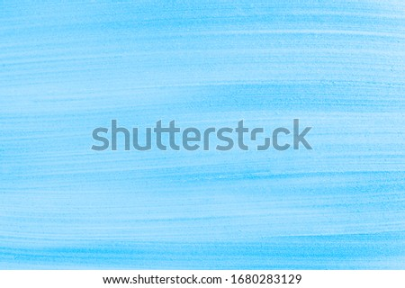 Cosmetics abstract texture background, blue acrylic paint brush  Stock photo © Anneleven