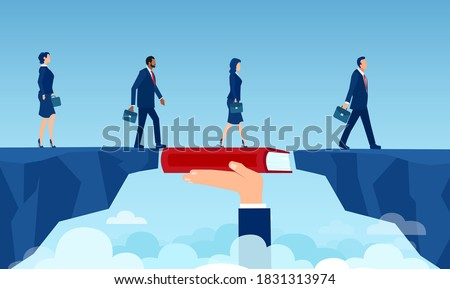 Businessman Knowledge, Business Education Vector Stock photo © robuart