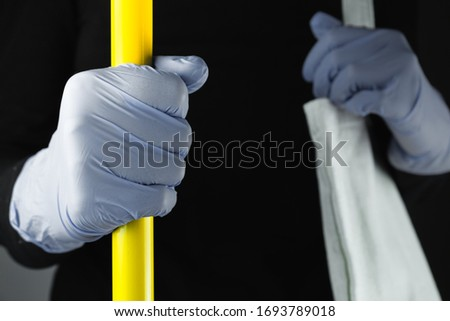 Objects for Coronavirus or Covid 19 protection. Hand means for disinfection squeeze a gel Stock photo © Illia