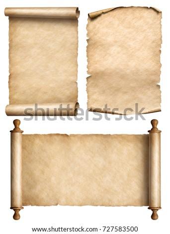 öreg függőleges mintázott papirusz tekercs ősi Stock fotó © evgeny89