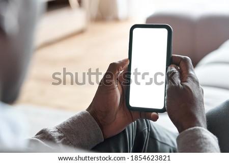 Homem comida entrega tecnologia consumo Foto stock © dolgachov