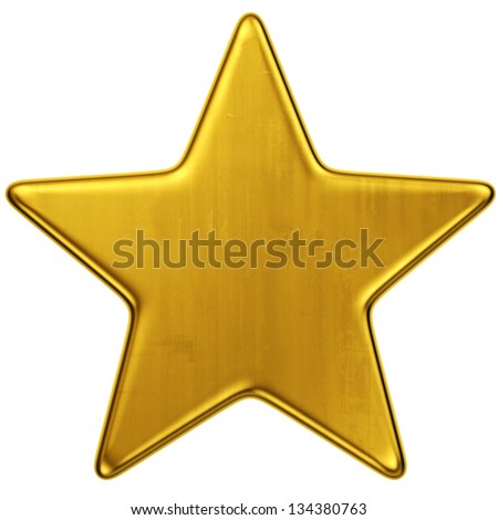 Dourado metálico estrela forma ouro bronze Foto stock © tashatuvango