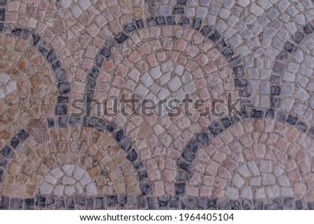 Architettonico dettagli antica strade isola Grecia Foto d'archivio © Anneleven