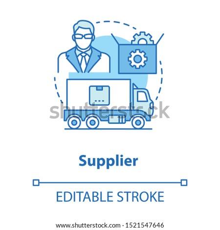 Drop servicing abstract concept vector illustration. Stock photo © RAStudio