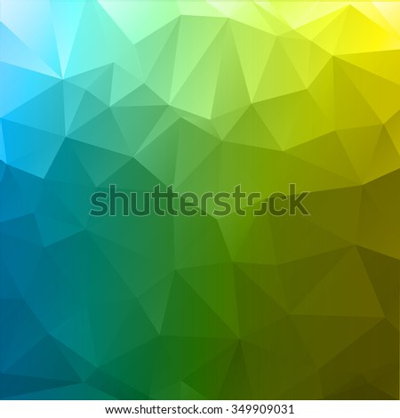 multicolor abstract geometric rumpled triangular low poly style illustration Stock photo © artush
