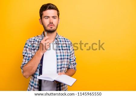 zakenman · twijfelachtig · gezicht · geïsoleerd · business · werknemer - stockfoto © deandrobot