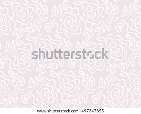 floreale · senza · soluzione · di · continuità · semplice · vettore · pattern - foto d'archivio © galyna