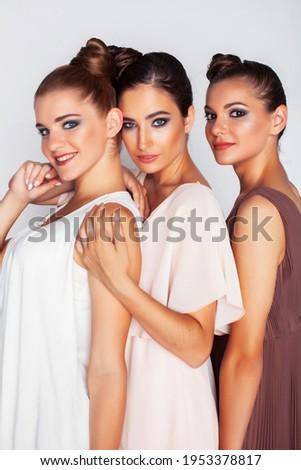 árbol bastante elegante peinado maquillaje Foto stock © iordani