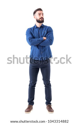 Handsome man posing with crossed arms Stock photo © wavebreak_media