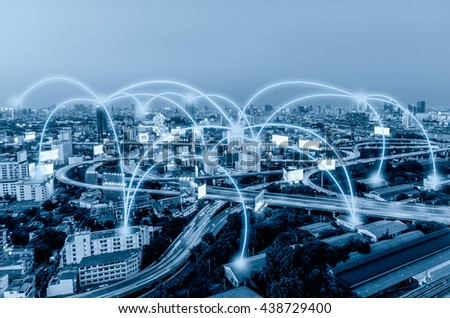 People Web Connections Stock photo © alexaldo