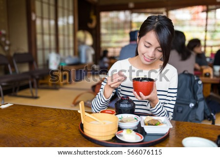 A set of women about meals.Japanese and Chinese cuisine, Wester Stock photo © toyotoyo
