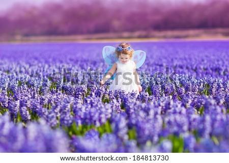 Stockfoto: Portret · aanbiddelijk · meisje · magie · fairy