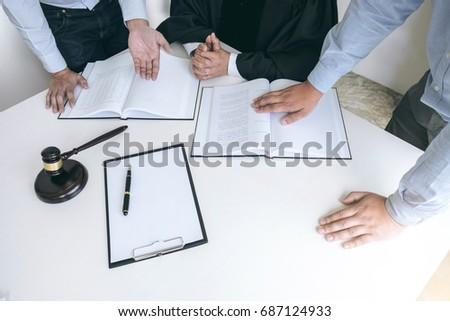 молоток мужчины адвокат старший судья Сток-фото © Freedomz