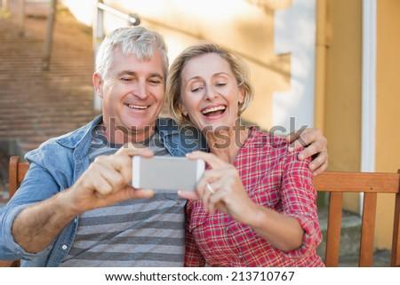Stockfoto: Gelukkig · senior · man