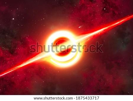 Estrelas planeta galáxia universo espaço tempo Foto stock © Anneleven