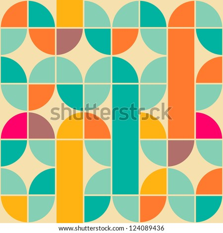 Seamless weave geometric pattern with creative shapes. Pink endl Stock photo © ExpressVectors