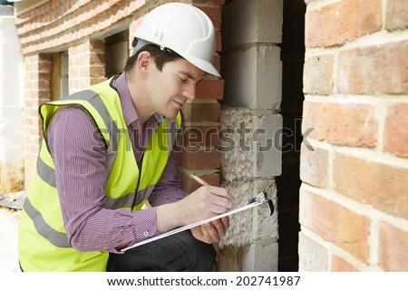 Inşaat müdür mimar yalıtım yarım bitmiş Stok fotoğraf © Kzenon