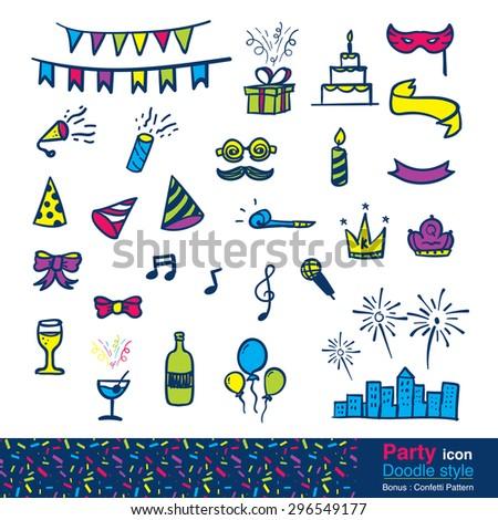 Színes firka kézzel rajzolt minta tűzijáték gyertyák Stock fotó © karetniy