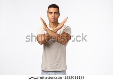 Idő stop erős higgadt fiatal férfias Stock fotó © benzoix
