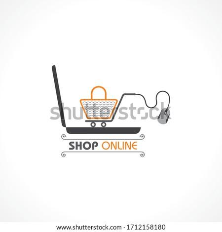 коронавирус пребывание домой безопасного онлайн доставки Сток-фото © -TAlex-