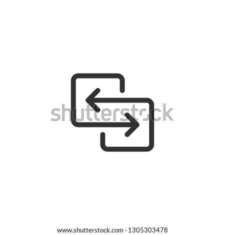 Fekete irányítás nyilak átutalás vándorlás adat Stock fotó © kyryloff