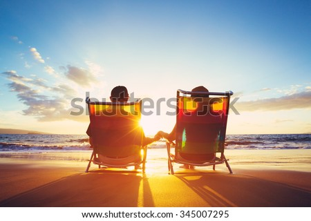 Hawaii summer beach lifestyle young couple enjoying sun in swimsuits at Polihale State Park, most we Stock photo © Maridav
