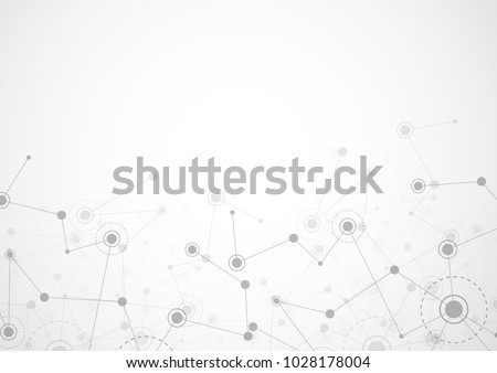 low poly network mesh technology background design  Stock photo © SArts