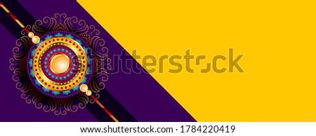 raksha bandhan wishes banner with text space Stock photo © SArts