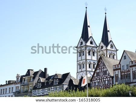 Church In Boppard Zdjęcia stock © manfredxy