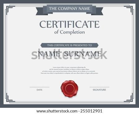 Guilloche border for diploma or certificate Stock photo © vtorous