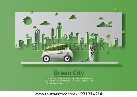 Transport Vehicle Green Vector Icon Design Stock photo © rizwanali3d