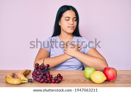Healthy lifestyle and healthy food is a pledge of a good figure and success. Yellow apples in a thic Stock photo © ANessiR
