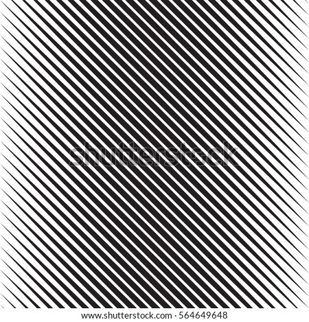 Vector Seamless Black and White Halftone Diagonal Stripes Pattern stock photo © CreatorsClub