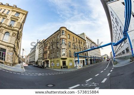 bleu · grue · eau · travaux · industrie - photo stock © meinzahn