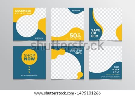 Moderno venda desconto folheto Foto stock © SArts