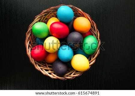 um · ovo · de · páscoa · páscoa · primavera · projeto · pintar - foto stock © lightfieldstudios