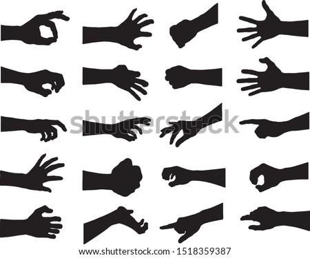 手 孤立した 白 ビジネス 手 皮膚 ストックフォト © MaryValery