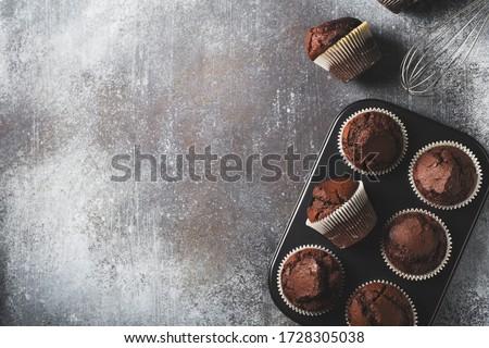 ev · yapımı · çikolata · basit · tatlı · kâğıt - stok fotoğraf © Peteer