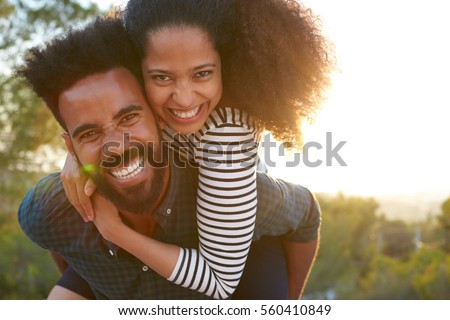 Romantische gelukkig armen Stockfoto © wavebreak_media