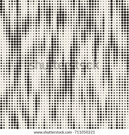 Modern Stylish Halftone Texture With Random Size Squares. Vector Seamless Pattern. Stock photo © samolevsky