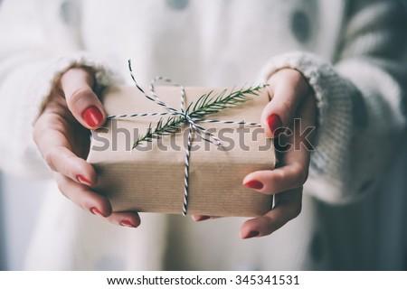 hand holding paper color tone design Stock photo © yupiramos