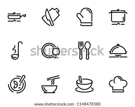 White crockery for soup Stock photo © Melnyk