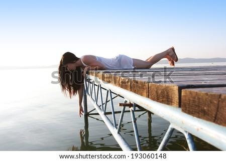 пирс · побережье · воды · пейзаж · моста - Сток-фото © photography33