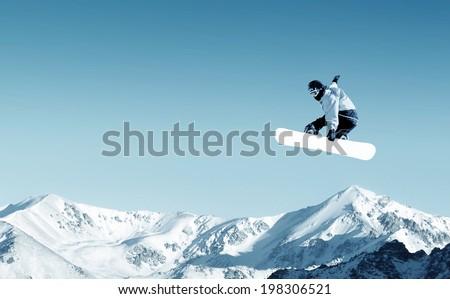 Snow Boarder Stock photo © cboswell