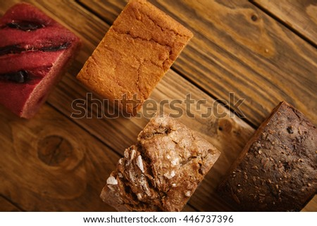 Close-up of Grains of Seasalt on a Dark Wooden Chopping Board stock photo © TheFull360