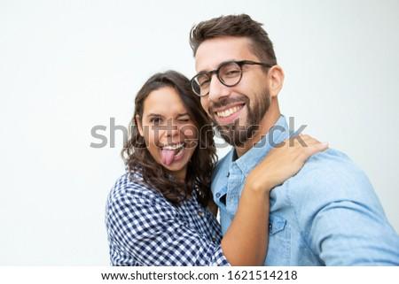 couple fooling around Stock photo © feelphotoart
