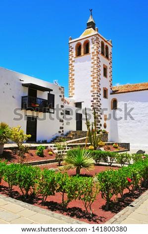 aldeia · canárias · Espanha · cidade · azul · arquitetura - foto stock © meinzahn