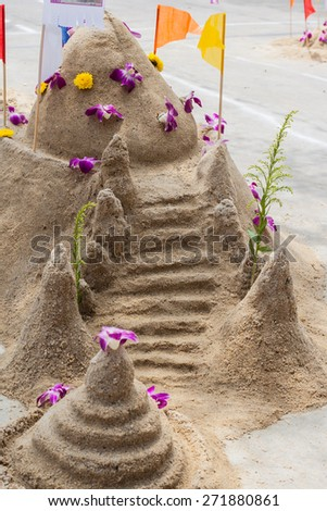 Arena pagoda ceremonia cultural actividades escultura Foto stock © FrameAngel